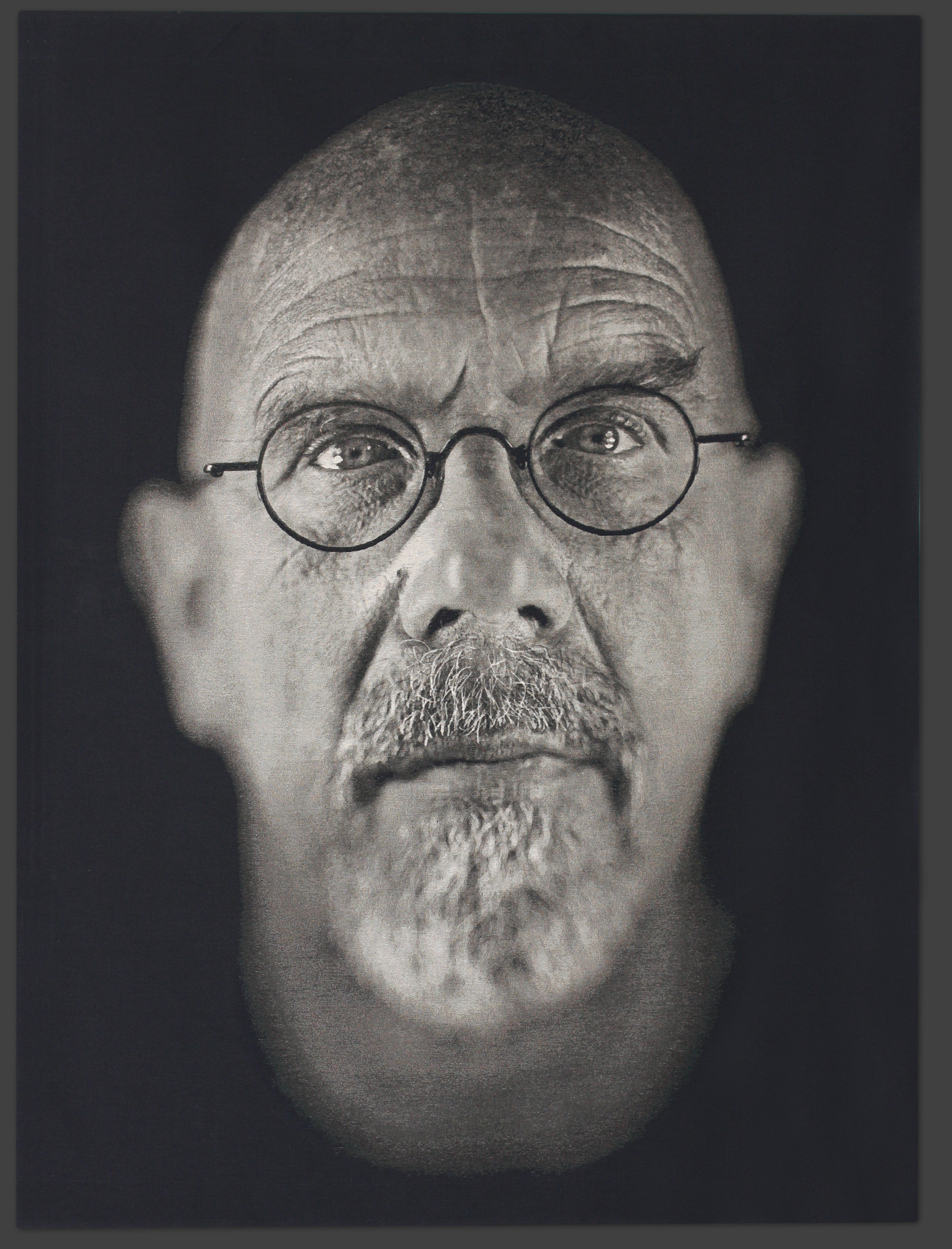 Chuck Close – Large Format | Tighe Photography